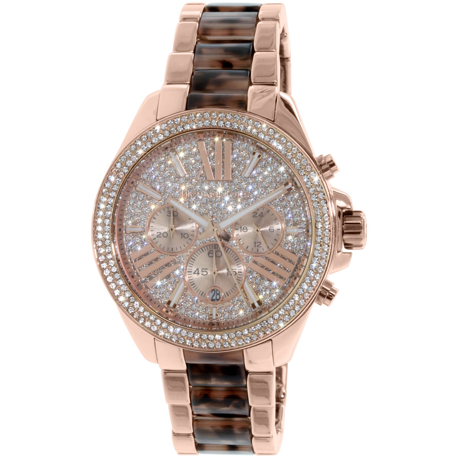 4d09298f82e2 Michael Kors Women s Wren MK6159 Rose Gold Stainless-Steel Quartz Fashion  Watch