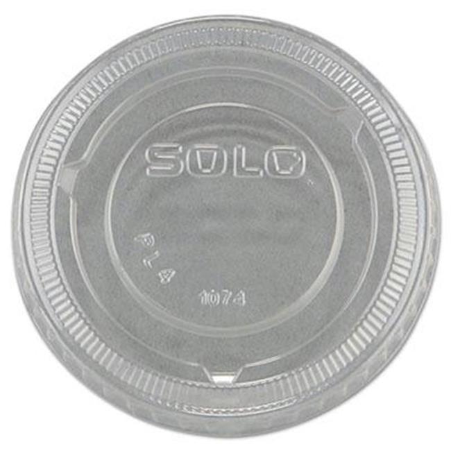 SOLO Cup Company No-Slot Plastic Cup Lids