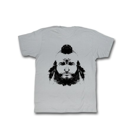 Mr. T 1980's Pity the Fool Wrestler Ink Painting Portrait Adult T-Shirt](Mr T Pity The Fool)