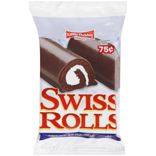 Mckee Foods Little Debbie  Swiss Rolls, 3.4 oz