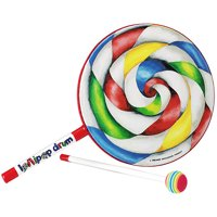 """Remo Kid's 8"""" Lollipop Drum with included Drum Mallet"""