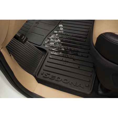 8 Passenger 2016 KIA Sedona Floor Mats, All-Weather (3 Rows) A9113