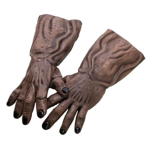 Green Lantern Deluxe Kilowog Latex Hands Costume Accessory Adult