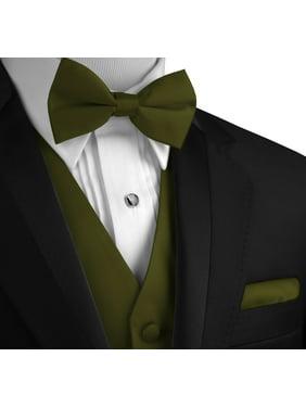 11261f22bfeb Product Image Italian Design, Men's Formal Tuxedo Vest, Bow-Tie & Hankie Set  for Prom