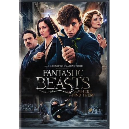Fantastic Beasts And Where To Find Them (Special Edition DVD) - Halloween Movie Specials 2017