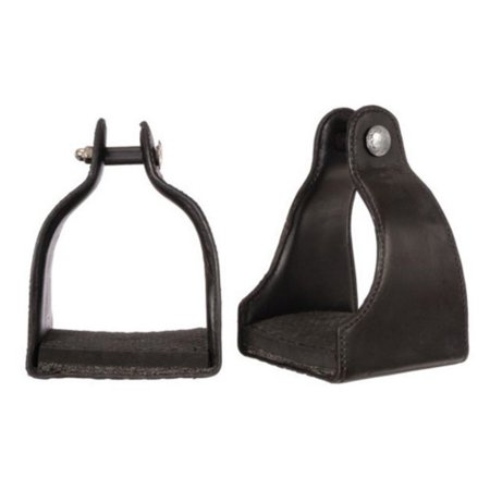- Royal King Leather Covered Padded Endurance Stirrups