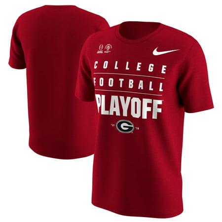 Nice Rose - Georgia Bulldogs Nike College Football Playoff 2018 Rose Bowl Bound T-Shirt - Red