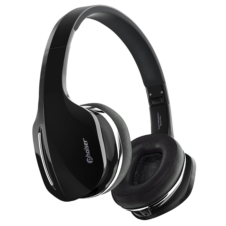 Phaiser BHS-630 Wireless Bluetooth Headset, On-Ear Headphones