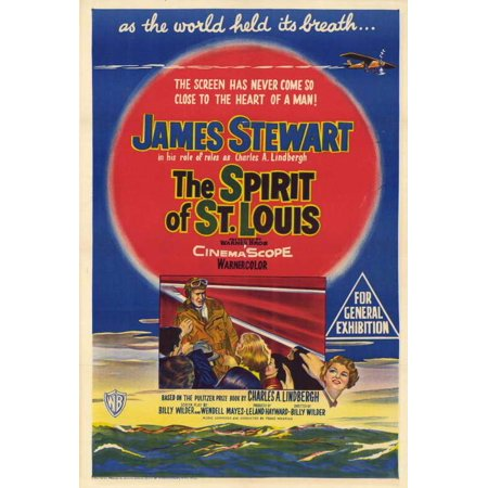 The Spirit of St. Louis POSTER Movie C (27x40)