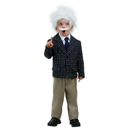 Einstein Toddler Costume - Albert Einstein Kids Costume