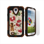 Beyond Cell Tri-Shield Durable Hybrid Hard Shell and Silicone Gel Case for Samsung Galaxy S4 - Retai