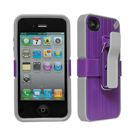 PureGear Utilitarian Smartphone Support System for Apple iPhone 4/4S (Purple) -
