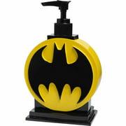 Batman Kids Soap/Lotion Pump Bathroom Accessory, Black and Yellow