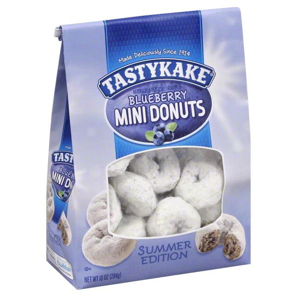 Tastykake Blueberry Mini Donuts, 10 oz