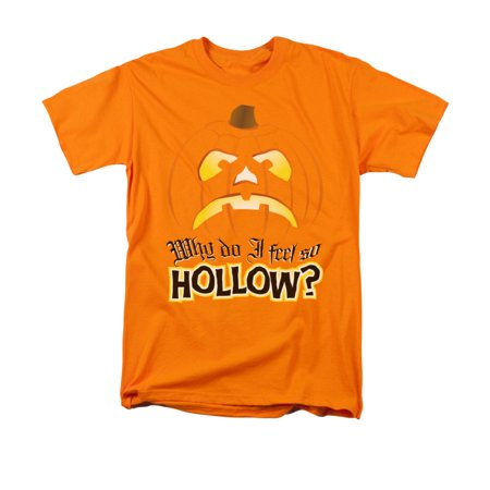 Why Do I Feel So Hollow Halloween Adult T-Shirt Tee - Halloween Feeling