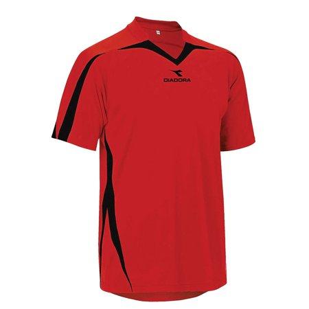 Diadora T-shirt - Diadora Men's Rigore Jersey S/S Shirts RED S