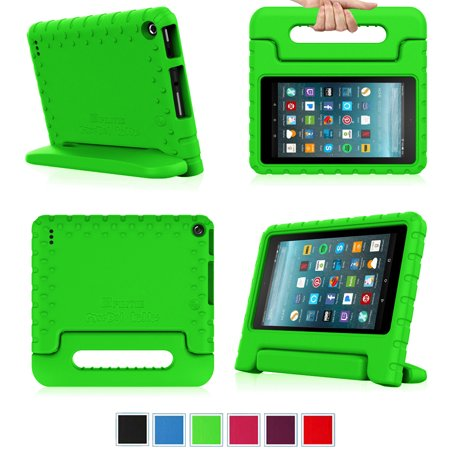Fintie Shock Proof Case for Amazon Fire 7 (7th Gen 2017) / Fire 7 (5th Gen  2015) - Light Weight Handle Stand Kids Cover