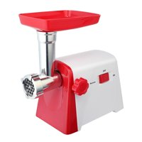 Electric meat grinder enema - red and white color match