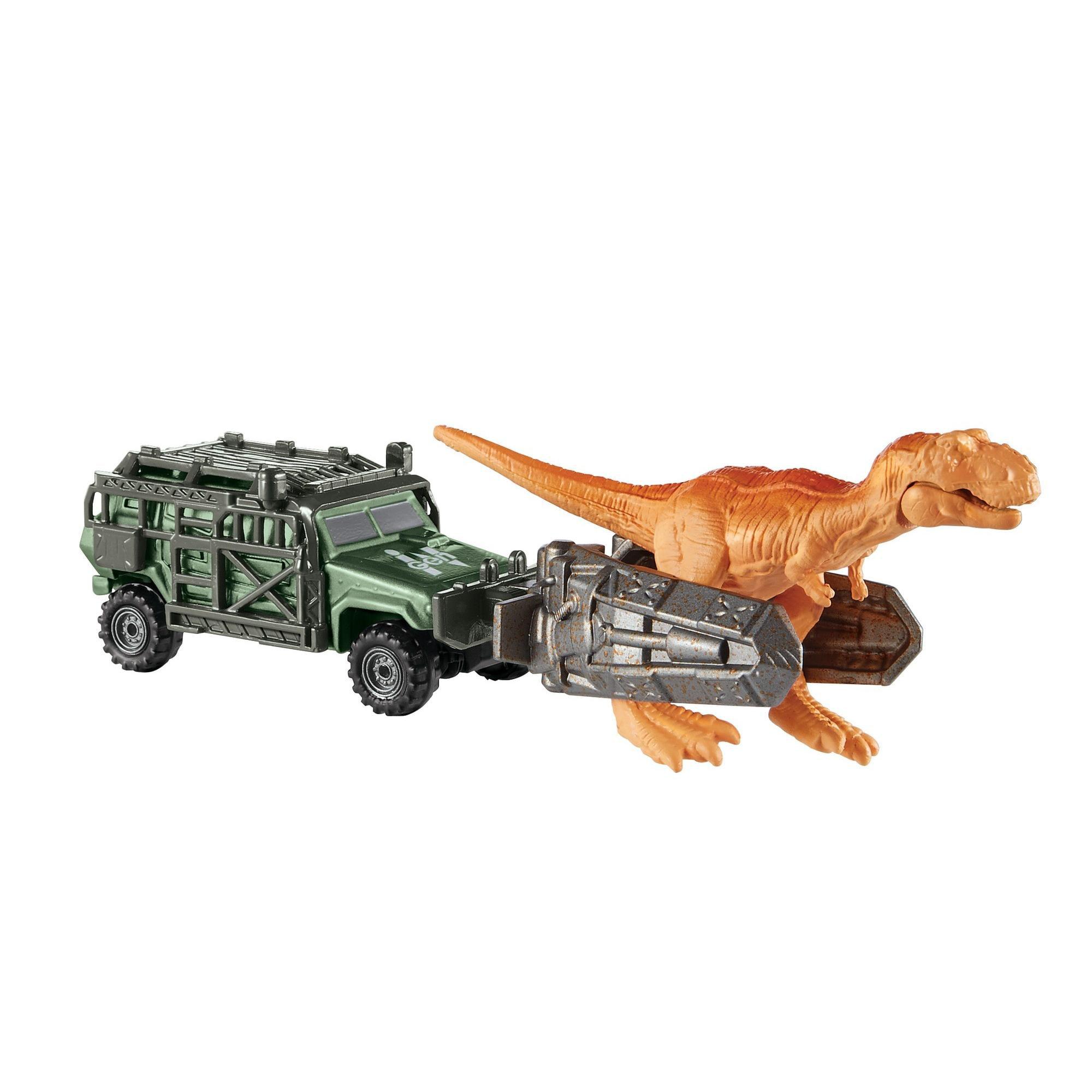 MATCHBOX Jurassic World Dino transporteur-TRICERA-Tracker-FMY35