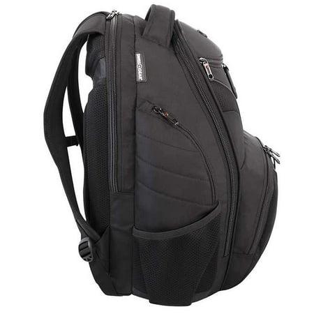 Swiss Gear Rainproof Laptop Backpack - Black - image 3 of 6