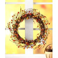 Berry Grapevine Wreath - Front Door Décor for Spring, Winter, Fall, Summer