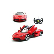 1/14 Scale Ferrari La Ferrari LaFerrari Radio Remote Control Model Car R/C RTR Open Doors (Color: Red)