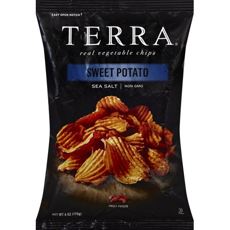 TERRA Sea Salt Sweet Potato Chips, 6 - Sea Salt Potato Chips