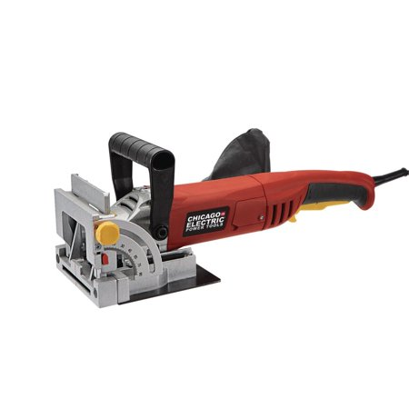 (Chicago Electric Power Tools 4 in. Biscuit Plate Joiner 120 V)