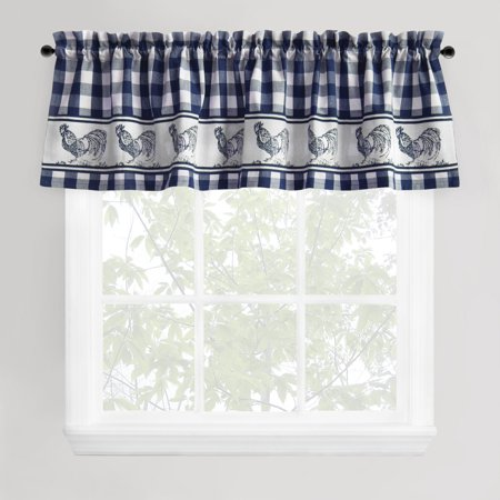 Park B Smith Provencal Rooster Window Valance
