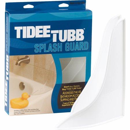 Tub And Shower Splash Guard -