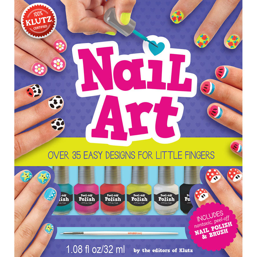 Nail Art Book Kit by Klutz