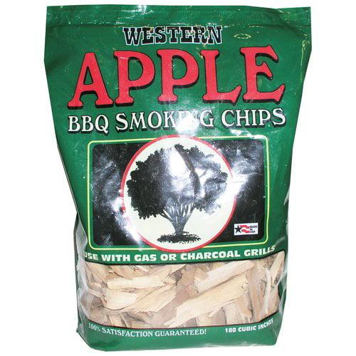 Western Apple Smoking Wood Chips 6-pack