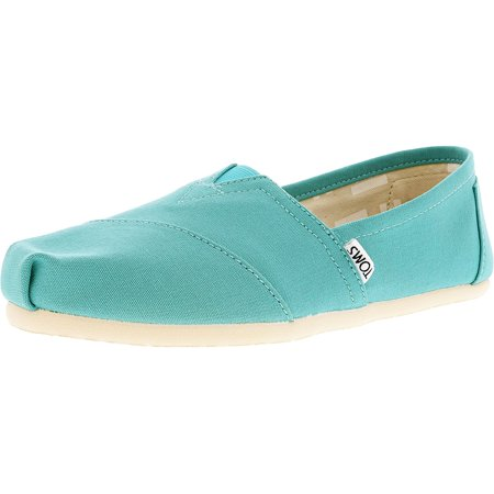 cd9ba4eebb8 Toms - Toms Women s Classic Canvas Turquoise Ankle-High Flat Shoe ...