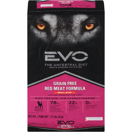 Evo Red Meat Formula Small Bites Dry Dog Food