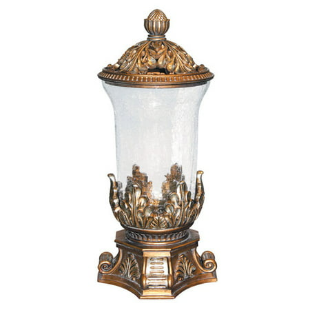 ROYAL VICTORIAN VASE WITH LID -