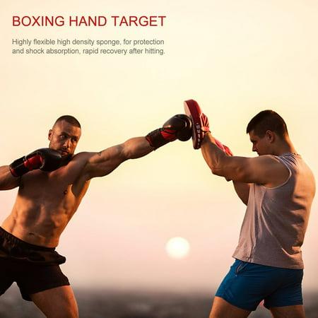Flexible Hand Fist Target Pads Sanda Taekwondo Foot Muay Thai MMA Boxing Pad - image 1 of 5