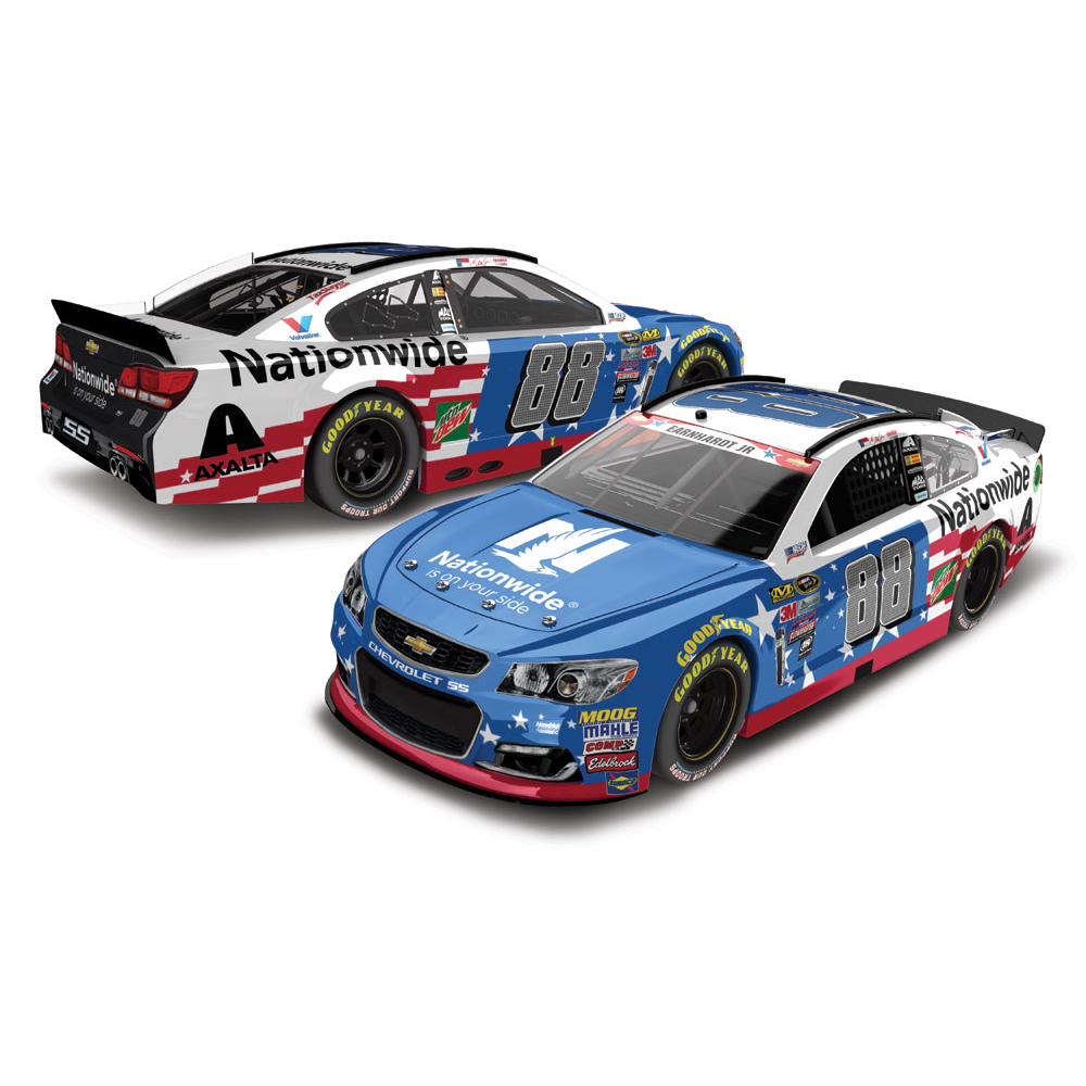 Action Racing Dale Earnhardt Jr. 2016 #88 Nationwide Stars & Stripes 1:24 Nascar Sprint... by Lionel LLC