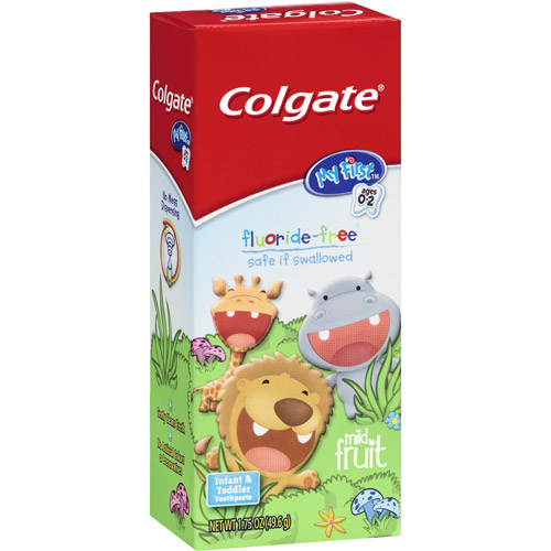 Colgate My First Fluoride Free Mild Mint Toothpaste, 1.75 oz