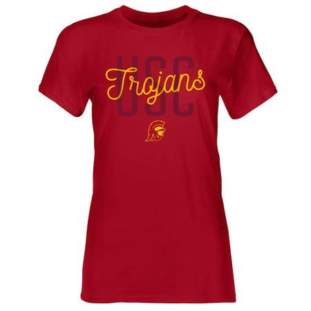Women's Cardinal USC Trojans Zarcero Crew Neck T-Shirt