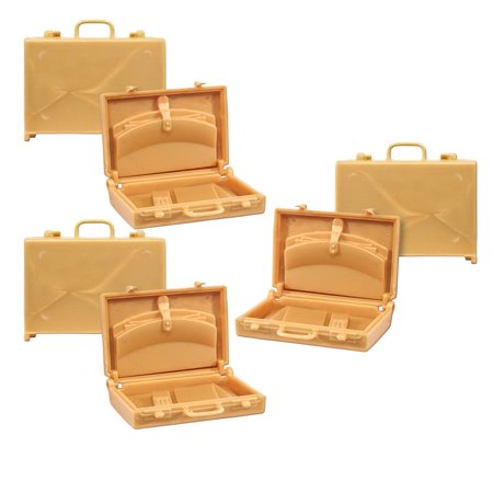 Gold Dust Wwe (Set of 3 Gold Briefcases for WWE TNA Wrestling Action)