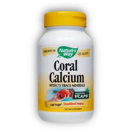 Nature's Way calcium de corail VegCap, 180 Count