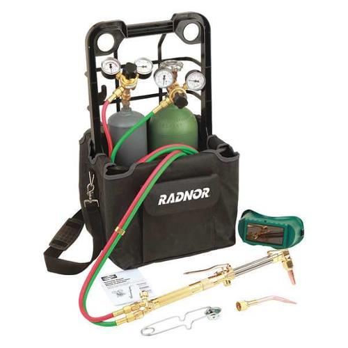 RADNOR RAD64003022 Welding and Cutting Outfit,Acetylene