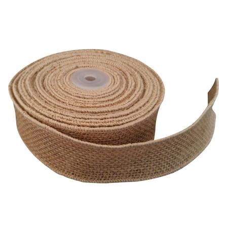 Jons Imports 2  x 10 Yard Burlap Ribbon Natural Jute Art & Craft Décor, Wedding, Craft Supplies Jons Imports 2  x 10 Yard Burlap Ribbon Natural Jute Art & Craft Dcor, Wedding, Craft Supplies