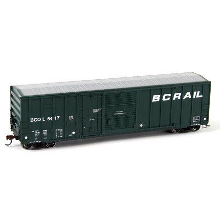 Athearn 87198 Ho British Columbia Railway 50 Fmc Combo Door Box Car  5417