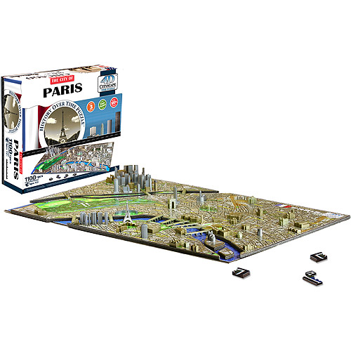 4D Cityscape Paris Time Puzzle by 4D CityScape
