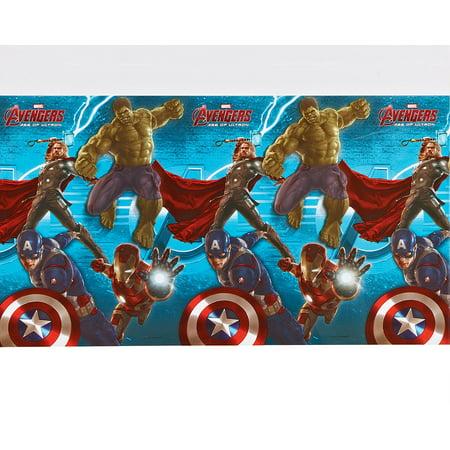 Avengers Table Cover (Avengers Plastic Table Cover, 54