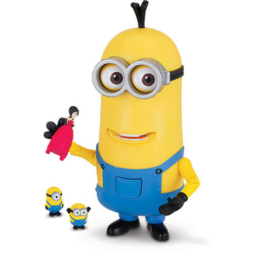 Despicable Me Giant Kevin with Mini Bob, Stuart and Scarlet