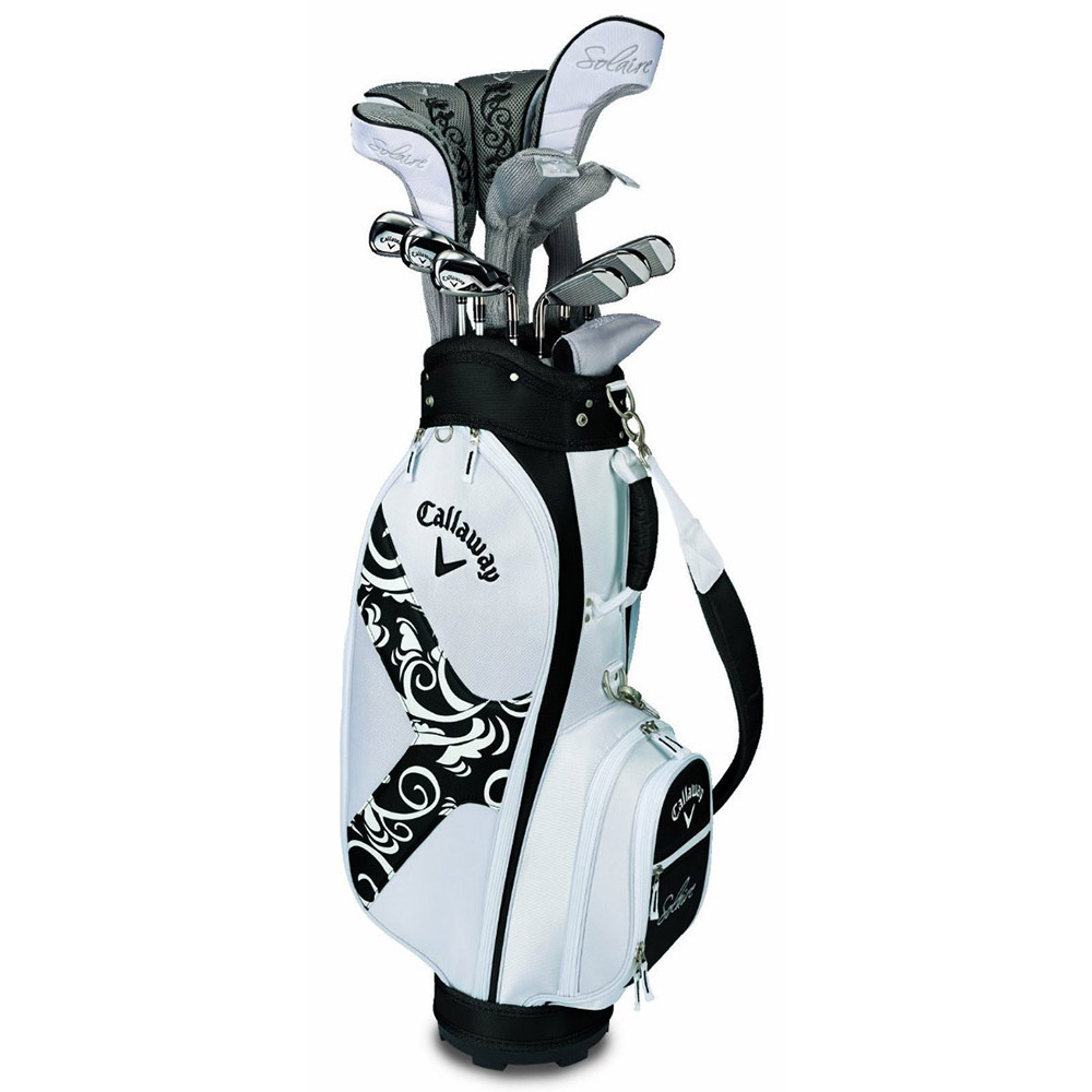 NEW Lady Callaway Solaire II (2) Complete 14 Piece Golf S...