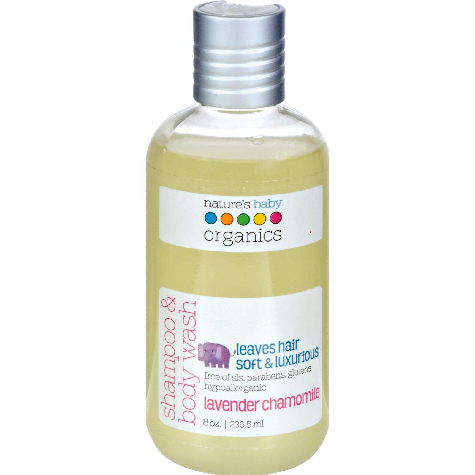 Natures Baby Organics Natures Baby Organics Shampoo & Body Wash, 8 oz