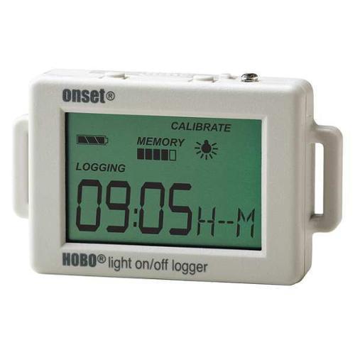 HOBO UX90-002 Data Logger,Light On/Off,128 KB G9620931